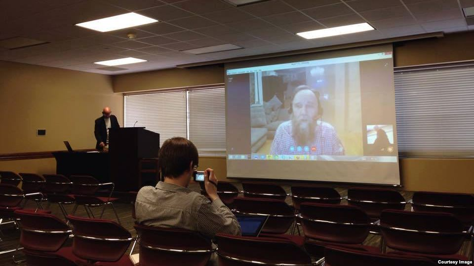 Dugin at Texas A&M