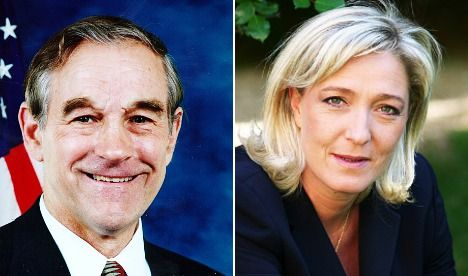 Ron Paul Marine Le Pen